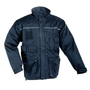 LIBRA Zimní bunda XL tmavě modrá