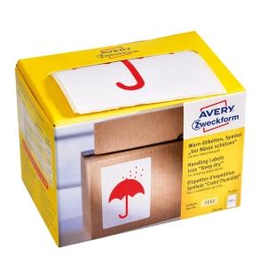 PK200 AVERY 7252 etikety  uchovejte v suchu