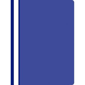 Nezávěsný prezentační rychlovazač PP A4, barva tmavě modrá, 25 kusů