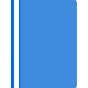 Nezávěsný prezentační rychlovazač PP A4, barva světle modrá, 25 kusů