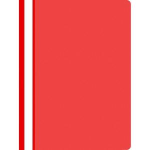 Nezávěsný prezentační rychlovazač PP A4, barva červená, 25 kusů
