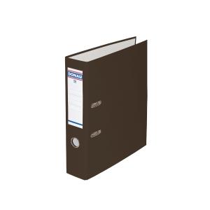 Pákový pořadač PP A4, šířka hřbetu 7,5 cm, hnědý