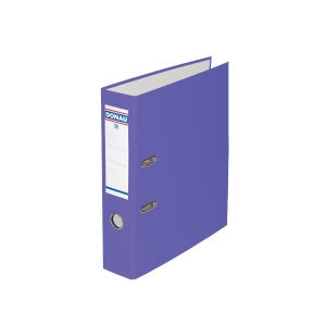 Pákový pořadač PP A4, šířka hřbetu 7,5 cm, fialový