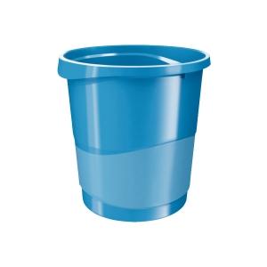 Odpadkový koš Esselte VIVIDA, 14 l, modrý