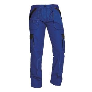 Dámské montérkové kalhoty do pasu ČERVA MAX LADY, velikost 38, modročerné