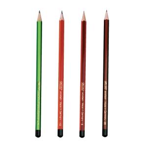 Tužka Scolair - H, HB, B, 2B, tuha odolná proti zlomení, 4 ks