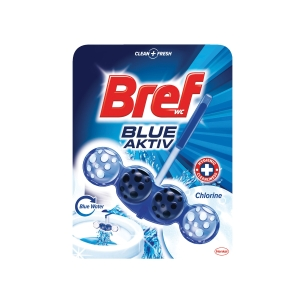 Bref WC blok blue aktiv chlor 50 g