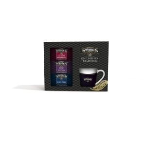 Sir Winston Geschenkpack,  3 Teesorten mit Becher