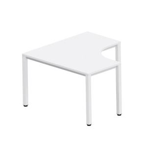 Easy Space Arbeitstisch L-Form links, 120 x 120 x 60 x 60 cm, heller Sand