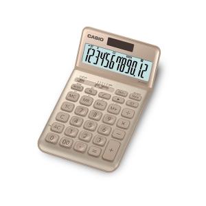 CASIO JW-200SC Taschenrechner gold, 12-stellig