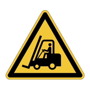 DURABLE Bodenmarkierung Vorsicht Flurförderfahrzeuge