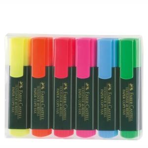 Faber-Castell Textmarker, 6 Farben