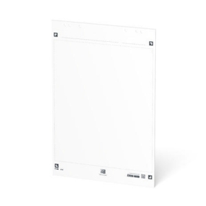 Oxford Smartchart Flipchartblock blanko 60 x 80 cm 20 Blatt, Packung mit 3 Block
