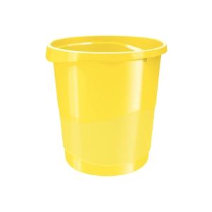 Esselte Europost VIVIDA Papierkorb, 14 l, gelb
