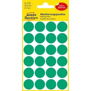 Avery L6133 Sehr resistente Etiketten 18 mm grün