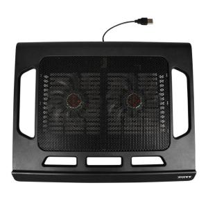 PORT DESIGNS Laptopunterlage kühlendend schwarz