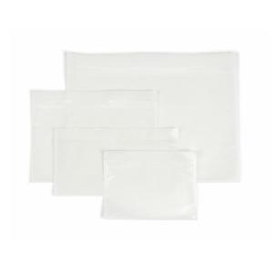 Dokumententaschen (160 x 110 mm) ohne Aufdruck, transparent, 100 Stück