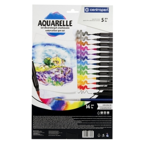 Kreativ-Set Centropen AQUARELLE 9383