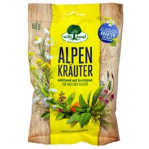 Willi Dungl Kräuterbonbons Alpenkräuter, 68 g