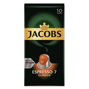 Jacobs Kronung Kaffeekapseln, Espresso 7, 10 Stück