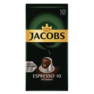 Jacobs Kronung Kaffeekapseln, Espresso 10, 10 Stück
