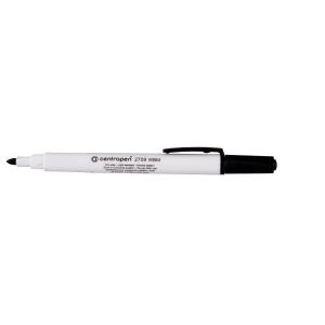 Centropen 2709 Marker für weisse Tafeln, schwarz