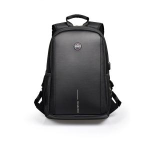 PORT DESIGNS CHICAGO EVO Rucksack für 15,6  NTB und 10,1  Tabletten, schwarz