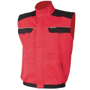 ARDON® COOL TREND Arbeitsweste, Größe 56, rot