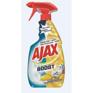 Ajax Boost Universalreiniger-Spray, Natron & Zitrone, 500 ml