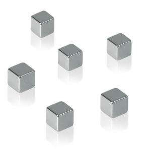 Sigel Magnete für Glasboards C5, 6 Stück