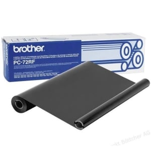 BROTHER Thermotransferrolle PC72RF schwarz