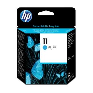 Druckkopf HP C4811A - 11, Reichweite: 24.000 Seiten, cyan
