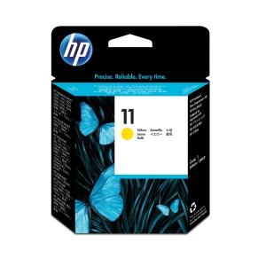 Druckkopf HP C4813A - 11, Reichweite: 24.000 Seiten, gelb