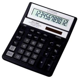 CITIZEN SDC888XBK Tischrechner schwarz, 12-stellig