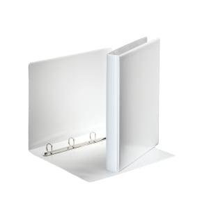 Esselte präsentationsringbuch 4-Ringe Ø20 mm, rückenbreite 38 mm, weiß