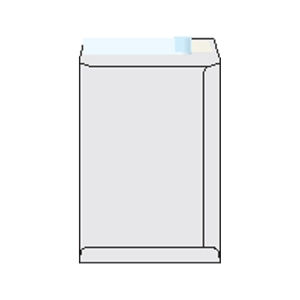 Weiße Versandtaschen - recycled C4(229 x 324 mm), 250 Stück/Packung