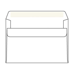Weiße selbstklebende Briefumschläge C6 (114 x 162 mm), Packung mit 1000 Stück