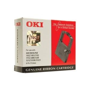 OKI Farbband für Drucker ML182 (9002303) schwarz
