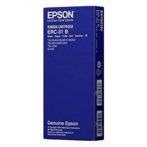 EPSON Farbband für Kassen ERC-31B (S015369) schwarz
