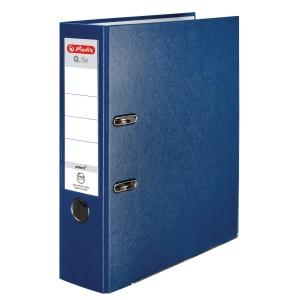Herlitz Standardordner A4 blau, Rückenbreite: 8 cm