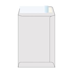 Weiße Versandtaschen - recycled B5 (176 x 250 mm), Packung mit 50 Stück