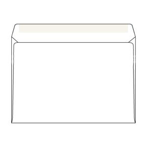 Weiße Briefumschläge C5 (162 x 229 mm), Packung mit 50 Stück