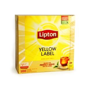 Lipton Yellow Label schwarzer Tee  180 g, 100 Stück