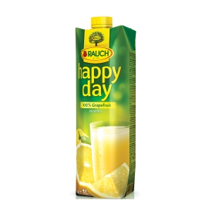 Happy Day Grapefruit Fruchtsaft 100% 1 l