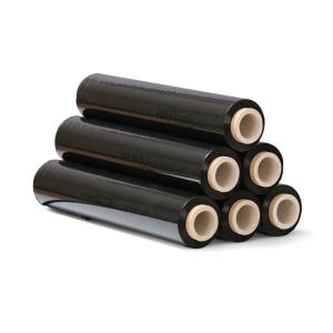 Stretchfolie schwarz, 23 Mikron, 50 cm x 151 m