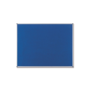 Nobo Classic Textil-Pinnwand 120 x 90 cm, blau