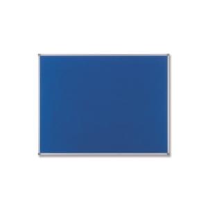 Nobo Classic Textil-Pinnwand 90 x 60 cm, blau