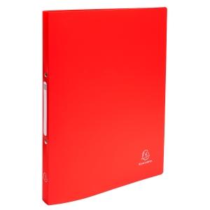 Exacompta Ringbuch, 2-Ringe Ø15 mm, rückenbreite 20 mm, rot