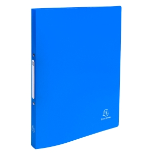 Exacompta Ringbuch, 2-Ringe Ø15 mm, rückenbreite 20 mm, blau