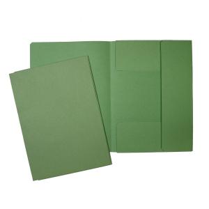 Hit Ekonomik 3-Flügelmappe  200g A4 grün